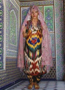 Узбекский Национальный Женский Костюм