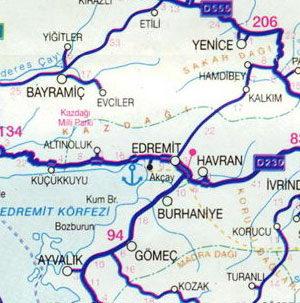 Побережье турции эгейское море