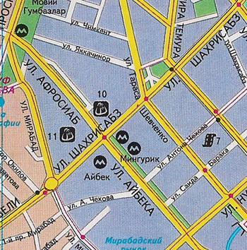 бухара фото карта
