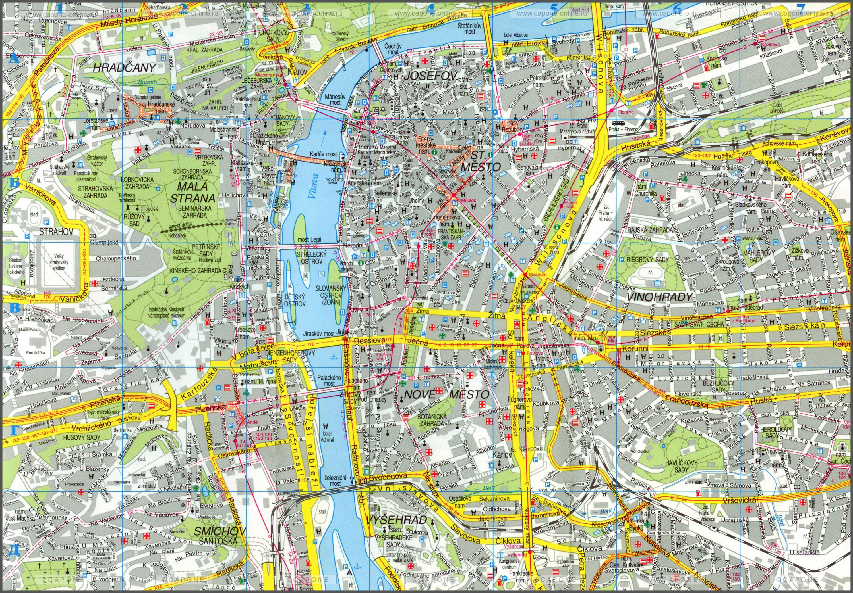 Бары, рестораны и прочие достопримечательности Праги.