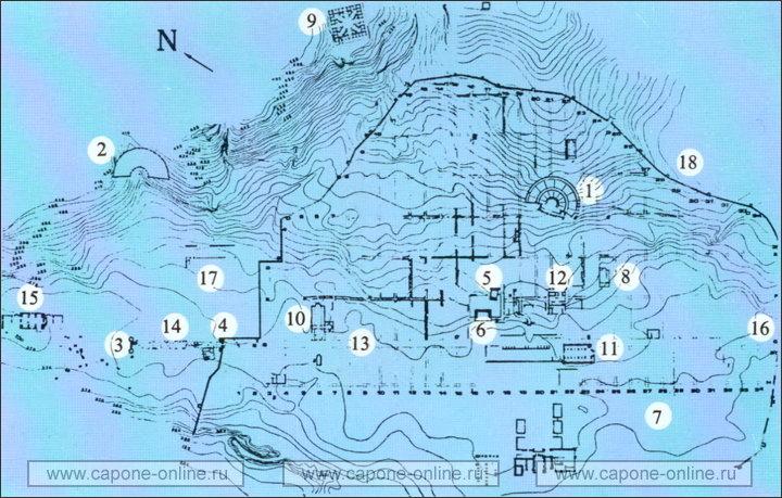 Схема города иерополиса