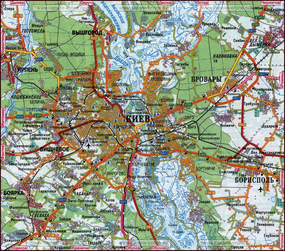 Карта киева жуляны - 3d4ce
