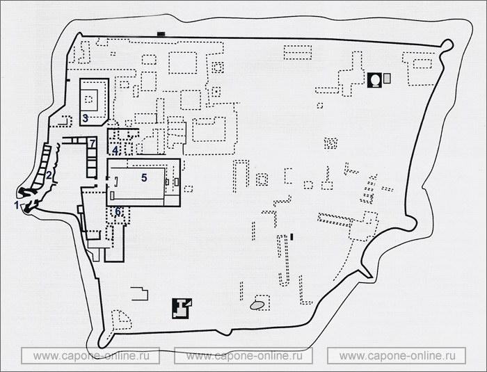 План крепость Арк