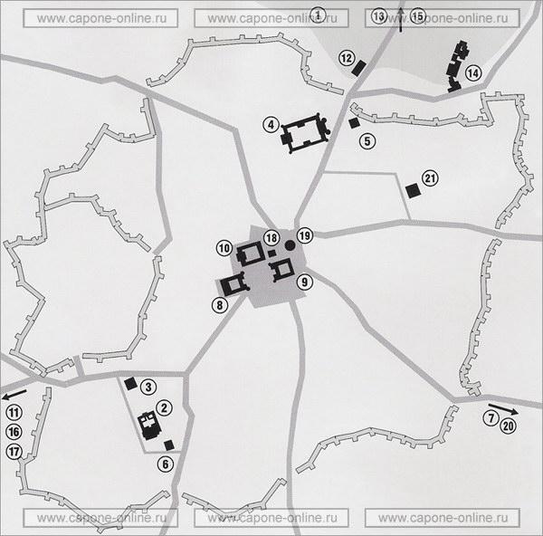 Карта средневекового